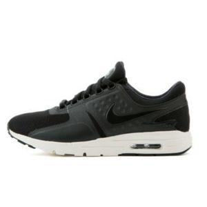 Nike Women's Air Max Zero Black/Sail/Black shoes 7